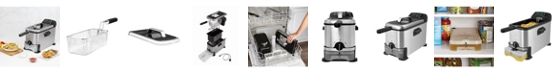 Kalorik 3.2-Qt. Deep Fryer with Oil Filtration