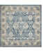 Bridgeport Home Bellmere Bel6 Light Blue 5' x 5' Square Area Rug