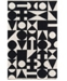 "Novogratz Collection Novogratz Topanga Top-3 Black 5' x 7'6"" Area Rug"