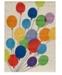 Momeni Area Rug, Lil Mo Whimsy LMJ-16 Balloons Multi 2' x 3'