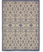Bridgeport Home Pashio Pas5 Blue 9' x 12' Area Rug