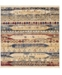 Bridgeport Home Borough Bor5 Multi 8' x 8' Square Area Rug