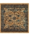 """Bridgeport Home Thule Thu5 Navy Blue 4' 5"""" x 4' 5"""" Square Area Rug"""