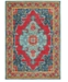 """JHB Design CLOSEOUT! Vibe Heriz Red 3'10"""" x 5'5"""" Area Rug"""