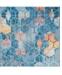 Bridgeport Home Prizem Shag Prz1 Blue 8' x 8' Square Area Rug