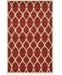 Bridgeport Home Arbor Arb6 Red Area Rug Collection
