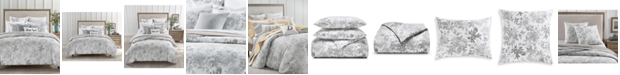 Charter Club CLOSEOUT! Watercolor Leaf 300-Thread Count 3-Pc. Full/Queen Comforter Set, Created for Macy's