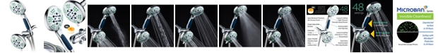 HotelSpa Antimicrobial Luxury Shower Combo