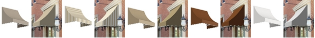 "Awntech 8' Nantucket Window/Entry Awning, 31"" H x 24"" D"