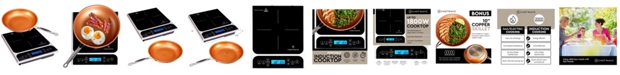 ChefWave Portable Induction Cooktop Countertop Burner and Frying Pan