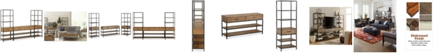 Furniture Gatlin Entertainment 3-Pc. Wall Unit (TV Stand & 2 Piers), Created for Macy's