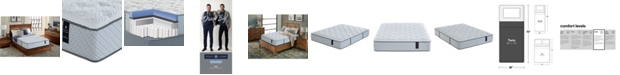 "Scott Living Brysen 12"" Plush Mattress- Twin, Created for Macy's"