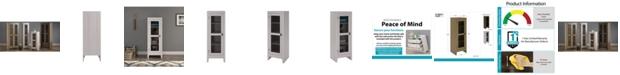 SystemBuild Foxcroft Storage Cabinet With Mesh Door