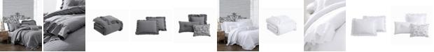 Montage Home Davina Enzyme Ruffled 6 Piece Comforter Set, King
