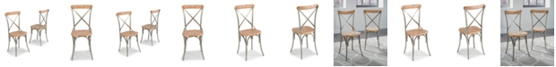 Home Styles French Quarter Pair of Side Chairs