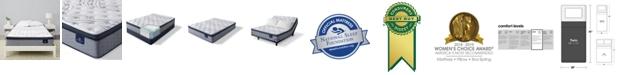 "Serta Perfect Sleeper Kleinmon II 13.75"" Plush Pillow Top Mattress - Twin"