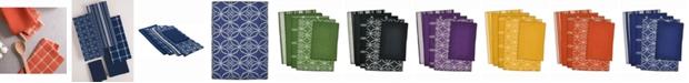 Design Imports Assorted Dishtowel and Dishcloth, Set of 5