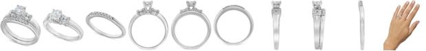 Macy's Diamond Bridal Set (1/2 ct. t.w.) in 14k White Gold