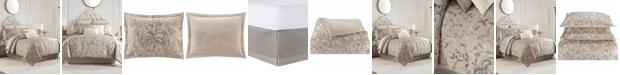 Waterford Andria Reversible 4 Piece Comforter Set, Queen