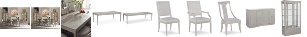 Furniture Rachael Ray Cinema Rectangular Expandable Dining Furniture Collection