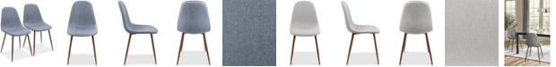 Lumisource Pebble Dining Chair (Set of 2)