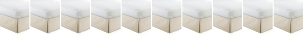 "Colcha Linens Cambric Vanilla Bedskirt 15""-King"