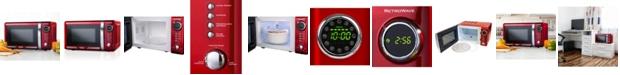 Nostalgia Retro Series 0.7 Cu. Ft. Microwave Oven RMO7RR