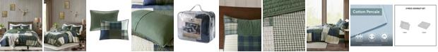 Woolrich Mill Creek 3 Piece Full/Queen Oversized Cotton Quilt Set