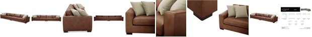 Furniture Chelby 2-Pc. Leather Sofa