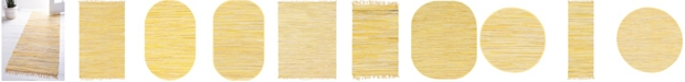 Bridgeport Home Jari Striped Jar1 Yellow Area Rug Collection