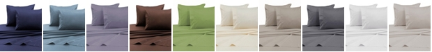 Tribeca Living 750 Thread Count Cotton Sateen Extra Deep Cal King Sheet Set