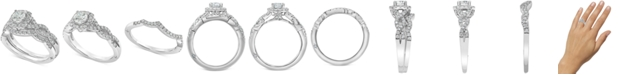 Marchesa Diamond Halo Bridal Set (1 ct. t.w.) in 18k White Gold