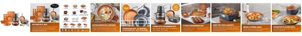 Gotham Steel 20 Piece Non-Stick Ti-Ceramic Complete Cookware & Bakeware Set