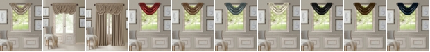 "Elrene All Seasons Faux Silk 52"" x 36"" Blackout Waterfall Valance"