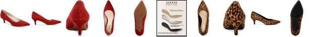 Alfani Women's Step 'N Flex Marshaa Pumps, Created for Macy's