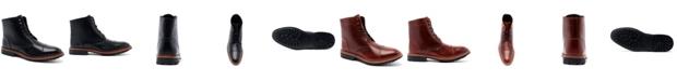 "Anthony Veer Men's Ranveer Cap-Toe Rugged 6"" Lace-Up Boots"