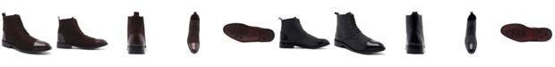 """Anthony Veer Men's Monroe Lace-Up 6"""" Goodyear Casual Dress Boots"""