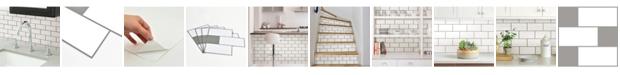 Brewster Home Fashions Subway Peel And Stick Backsplash Tiles