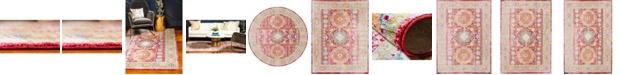 Bridgeport Home Malin Mal1 Red Area Rug Collection