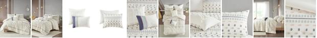 Urban Habitat Auden 5 Piece Full/Queen Cotton Jacquard Comforter Set
