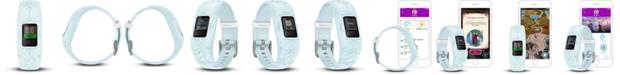 Garmin Kid's vivofit jr. 2 Elsa Blue Silicone Strap Smart Watch 11mm