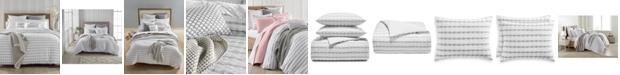 Charter Club Seersucker Cotton 150-Thread Count 2-Pc. Twin Duvet Set, Created for Macy's