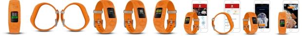 Garmin Kid's vivofit jr. 2 Light Side Orange Silicone Strap Smart Watch 11mm