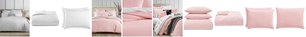 Charter Club Diamond Dot Cotton 300-Thread Count 3-Pc. King Duvet Cover Set, Created for Macy's