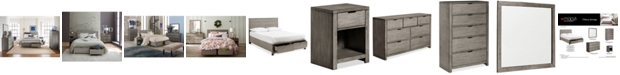 Furniture Tribeca Storage Platform Bedroom Furniture Collection, Created for Macy's