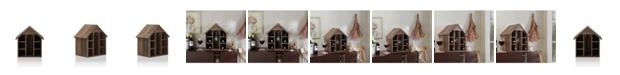 Furniture of America Bales Rustic Wine Rack