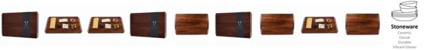 Viski Admiral Acacia Wood Cheese Board