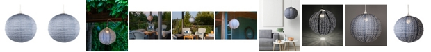 Allsop Home & Garden Stella Nova Metallic Chevron Pendant Lamp