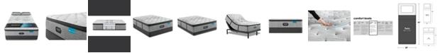 "Beautyrest Harmony Lux Carbon 15.75"" Medium Pillow Top Mattress Set - Twin"