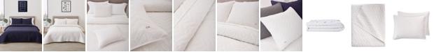 Lacoste Home Herringbone Stitch Quilt Set, Full/Queen